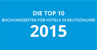 SiteMinder top booking sites 2015