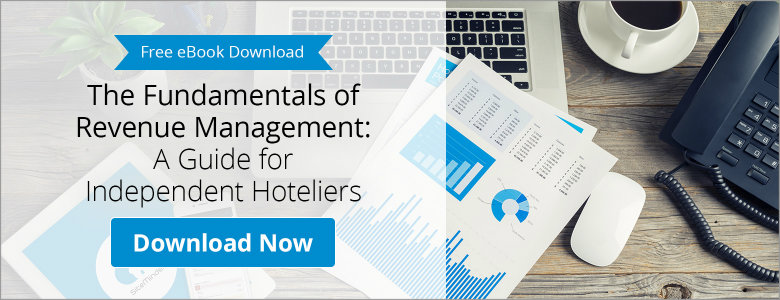 Free downloadable guide from SiteMinder on the fundamentals of revenue management for hoteliers