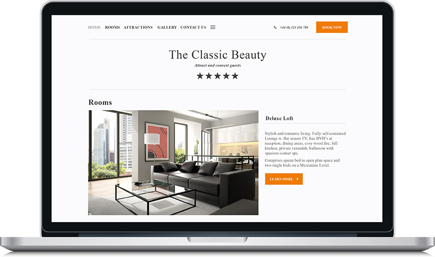 Canvas Classic Beauty Website Template