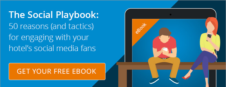 Free eBook: 50 ways to engage your hotel's social media fans