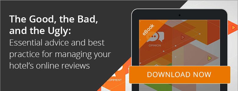 Download the guide and follow the hotel industry advice for managing online reviews