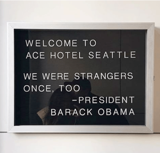 Ace Hotel Instagram Post