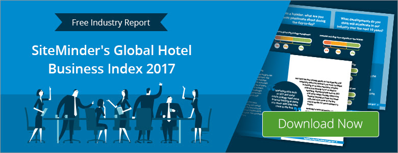 Download SiteMinder's Global Hotel Business Index 2017 for hotel industry insights