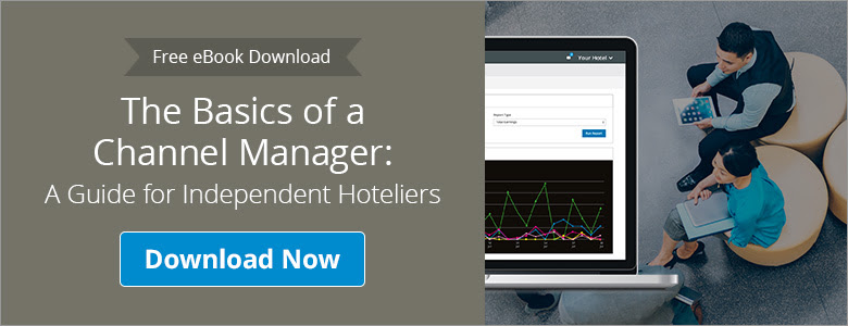 A free eBook that explores the basics of a channel manager for independent hoteliers
