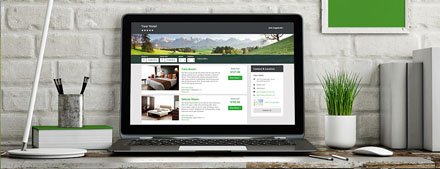 Hotel making a booking on SiteMinder's TheBookingButton