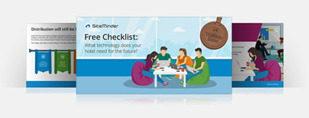 Free checklist from SiteMinder on what technology your hotel needs for the future
