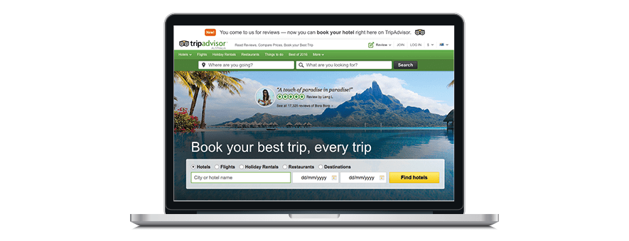 All hotels should advertise their hotel on TripAdvisor