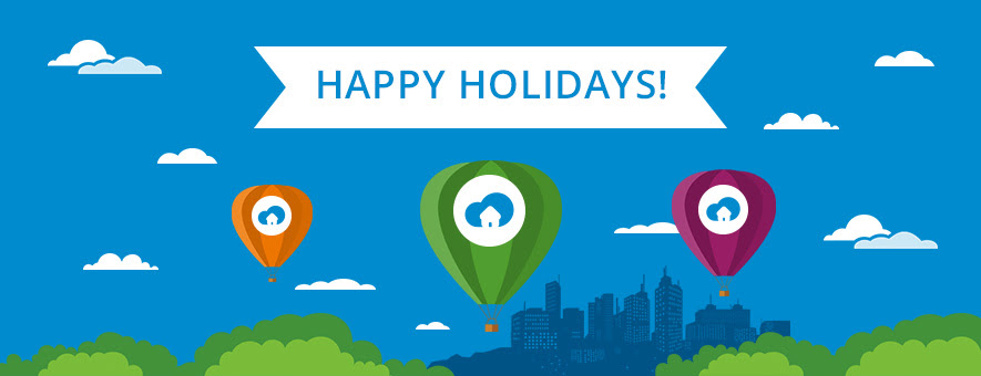 Happy holidays from SiteMinder