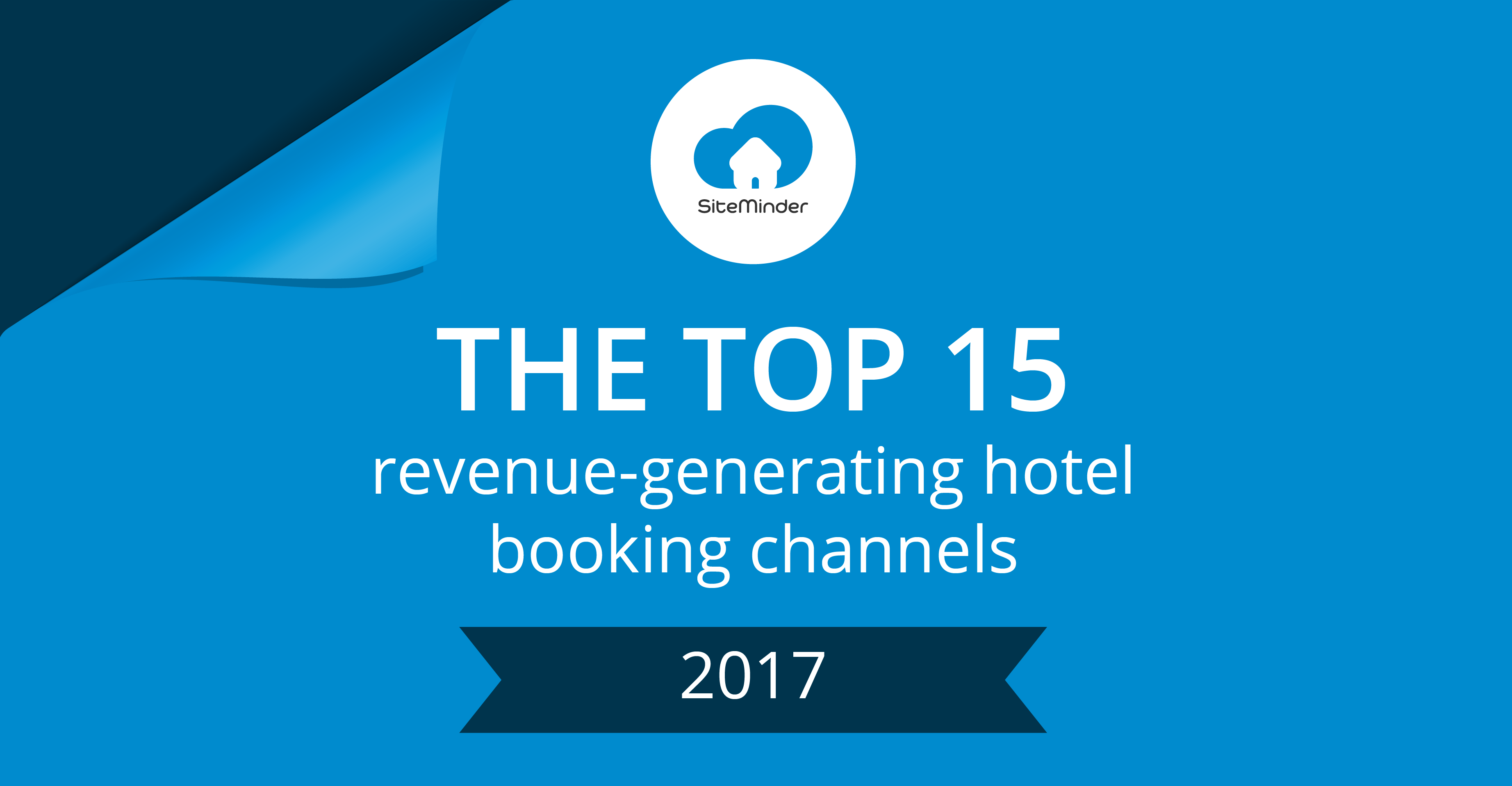 SiteMinder's top booking channels 2017