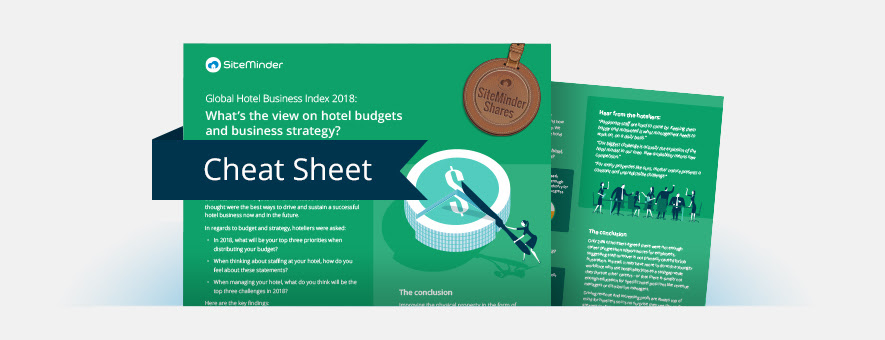 global hotel business index 2018 the view on budgets and strategy