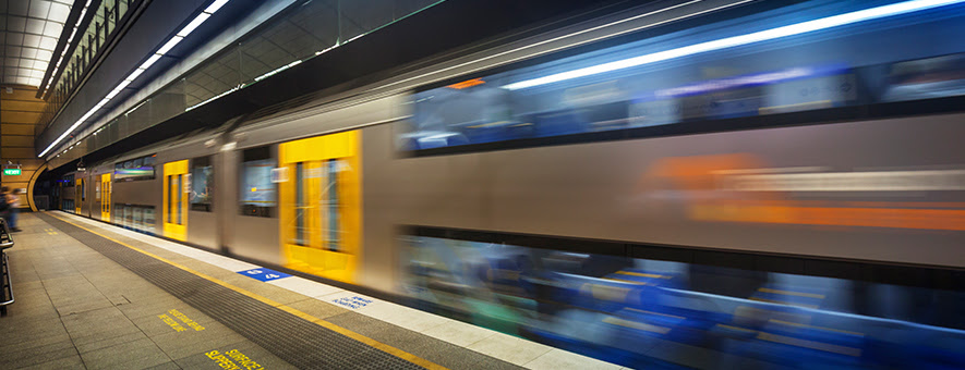 Rail transport is important to the future of travel