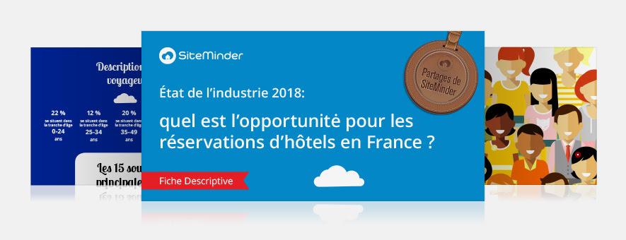État de l'industrie 2018: quel est l'opportunitė pour les réservations d'hôtels en France ?
