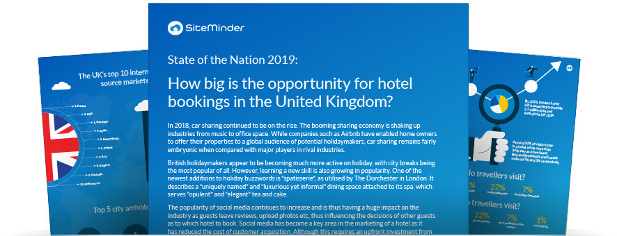 How big is the opportunity for hotel bookings in the United