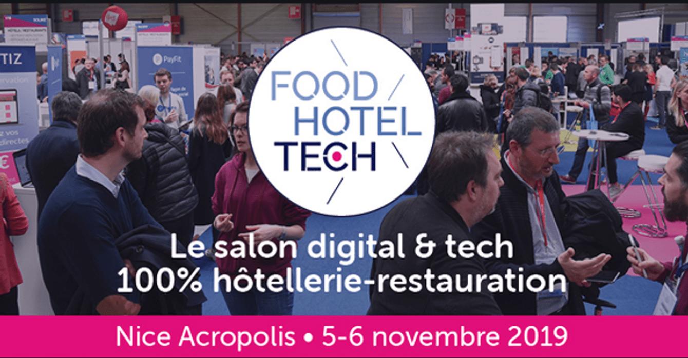 Food Hotel Tech Nice 2019 | Événement Hôtellerie