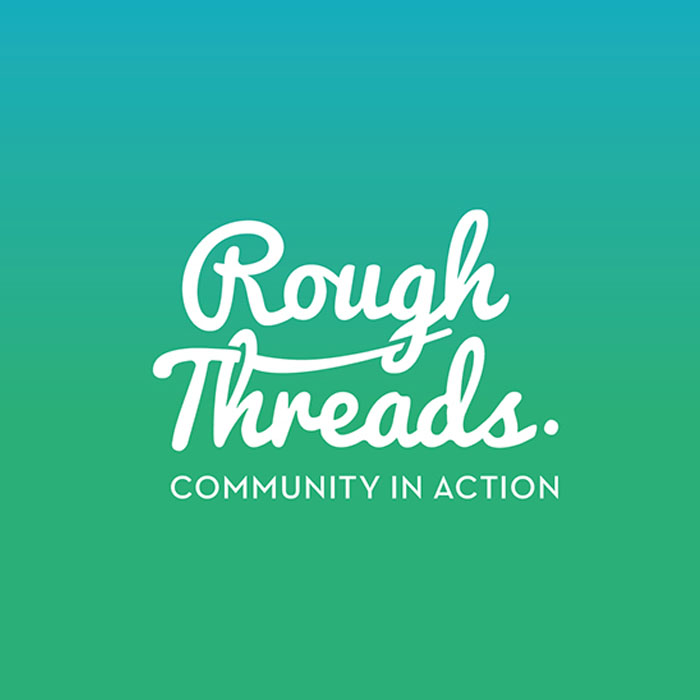 Rough Threads logo