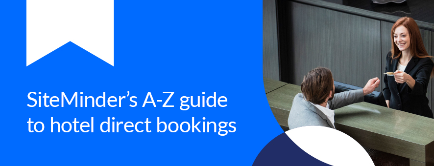 feature image for SiteMinder's A-Z direct bookings guide